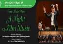 Lịch diễn đêm nhạc phim A Night of Film Music