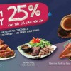 Nhà hàng Highway4- Đang giảm 25%
