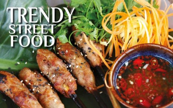 Phám khá ẩm thực đường phố Hà Nội tại Red Bean Trendy
