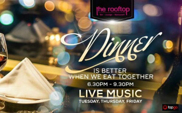 Sự kiện không thể bỏ lỡ vào thứ 3 và thứ 6 hàng tuần tại Rooftop Bar