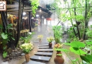 Nhà hàng Pao Quán –khiến người ta gợi nhớ đến một vùng núi Tây Bắc xinh đẹp.