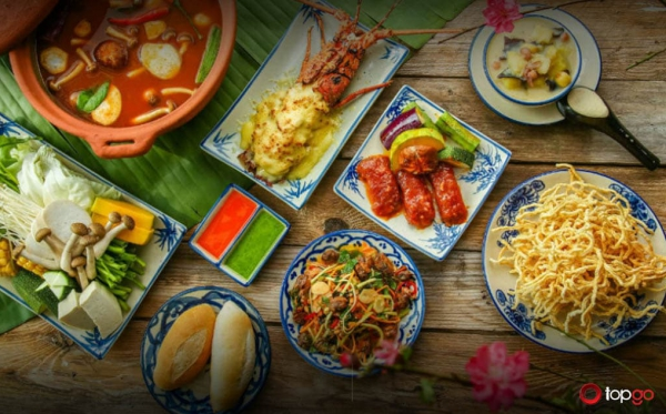 Nhà hàng Ngon- 26 Trần Hưng Đạo – Ưu đãi đặc biệt tới 10% khi đặt bàn qua TOPGO
